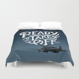 Ready To Take Off Duvet Cover