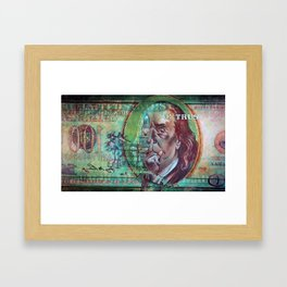 In Dependence We Trust Framed Art Print
