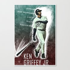 Ken Griffey Jr  Canvas Print