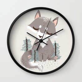 """The """"Animignons"""" - the Wolf Wall Clock"""
