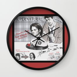 Supernatural Toy Co. Slumber Party Sam Winchester Styling Head Wall Clock