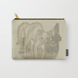 Ghost Kitty Carry-All Pouch