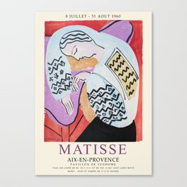 Matisse Exhibition - Aix-en-Provence - The Dream Artwork Canvas Print