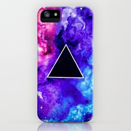 Black Hole Trinity iPhone Case