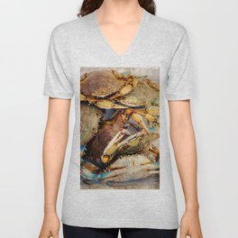 Blue Crabs Unisex V-Neck
