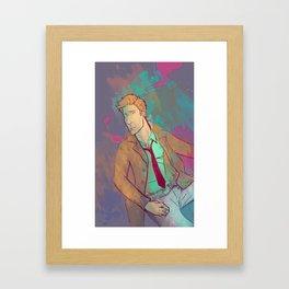 Neon City Framed Art Print