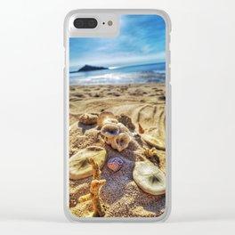 Australian Sand dollars Clear iPhone Case