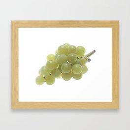 White Grapes  Framed Art Print