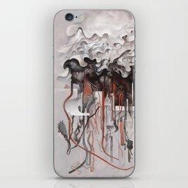 The Unfurling Dreamer iPhone Skin