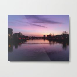 Glasgow Sunrise 1 Metal Print
