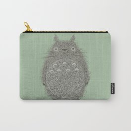 Green Totoro Carry-All Pouch