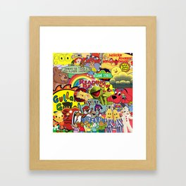 Kids shows from our Childhood Framed Art Print