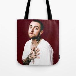 Mac In Portrait Tote Bag