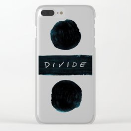 Divide Clear iPhone Case