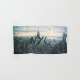 Rainy Day in NYC Hand & Bath Towel