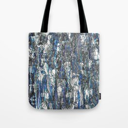 Abstract blue 2 Tote Bag