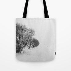 White road Tote Bag