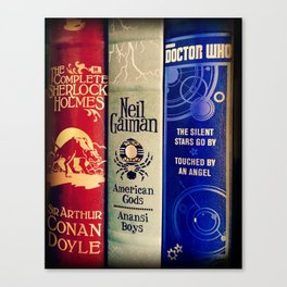 Library of Fun Canvas Print
