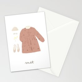 Pink OOTD Stationery Cards