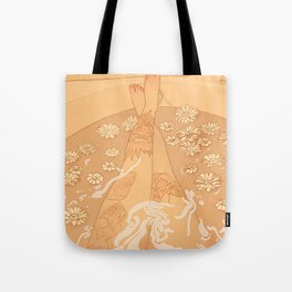 Flower Bath 10 (uncensored version) Tote Bag