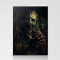zombie Stationery Cards featuring Zombie by Sirenphotos