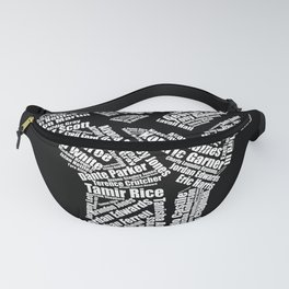 Black Lives Matter Say Their Names Raised Fist Fanny Pack