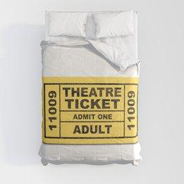 Theatre Ticket Comforters
