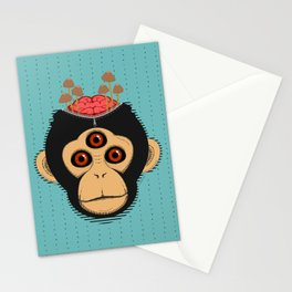 3rd Eye Chimp & Psychedelic Mushrooms Stationery Cards