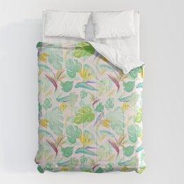 Birds of Paradise Pattern Comforters