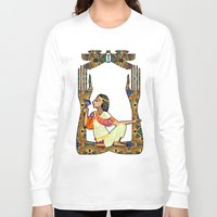 egyptian Long Sleeve T-shirts featuring Egyptian Fusion by BohemianBound