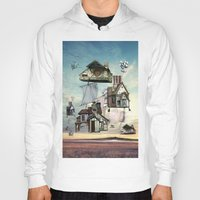 house Hoodies featuring house by Кaterina Кalinich