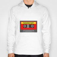 80s Hoodies featuring 80s by Cassino Woodes