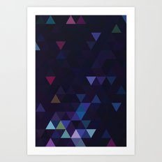 Simple Sky - Midnight Art Print