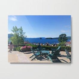 The Sagamore at Lake George - view 5 Metal Print