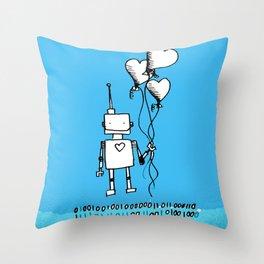 A romantic gesture Throw Pillow