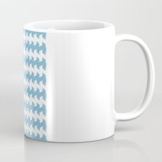 jaggered and staggered in dusk blue Mug