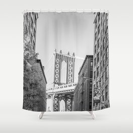 Exploring Brooklyn Shower Curtain