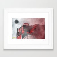 silent hill Framed Art Prints featuring Silent Hill by Nowherephotography