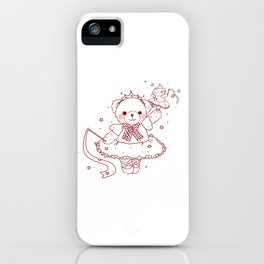 The Adventures of Bear and Baby Bear-Prima Ballerina iPhone Case