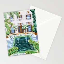 Moroccan Oasis Stationery Cards