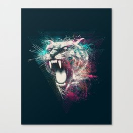 White Fang Canvas Print