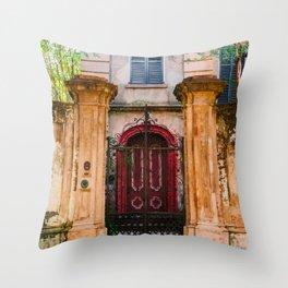Charleston Architecture XXI Throw Pillow