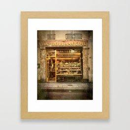 La Boulangerie Paris Framed Art Print