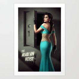 The Arabian Heist Art Print