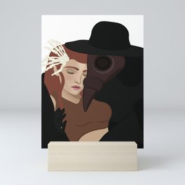 Plague Doctor Mini Art Print