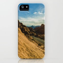 driving through fire iPhone Case