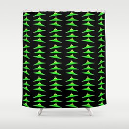 Flying saucer 4 Shower Curtain