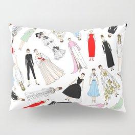 Audrey Fashion Whimsical Layout Pillow Sham