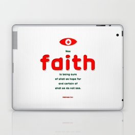 Certain of What We Do Not See Laptop & iPad Skin