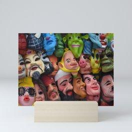 Masking our Inner-selves Mini Art Print